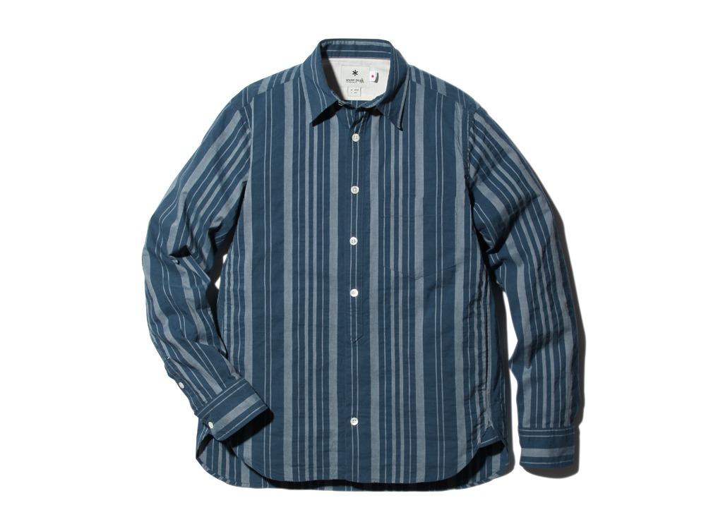 OrganicStripedShirt XL Navy0