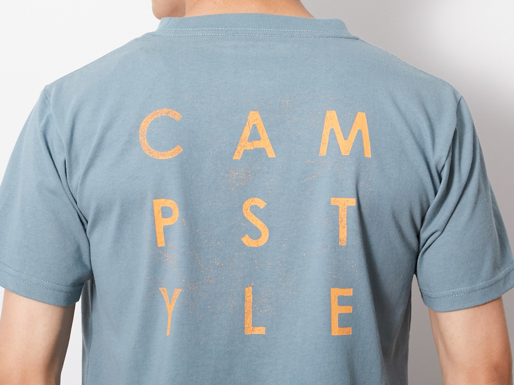Authentic Campstyle Tee S Light Blue