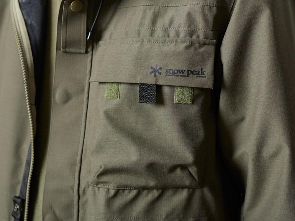 FR Rain Jacket M Olive5