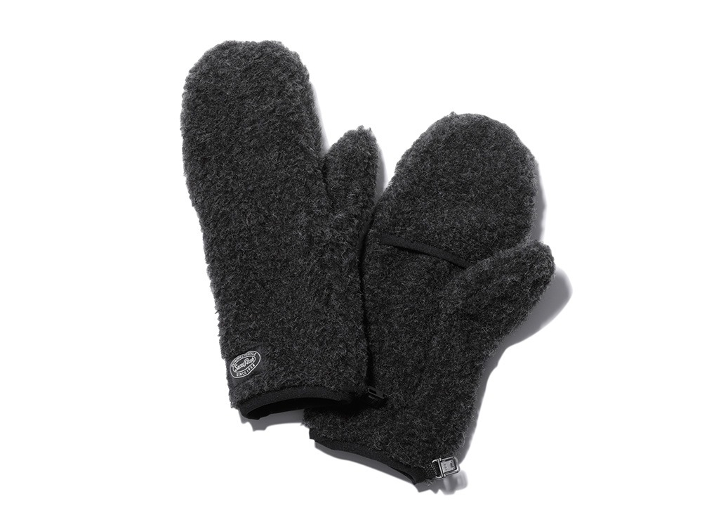 Wool Fleece Mitten size 2 men BK