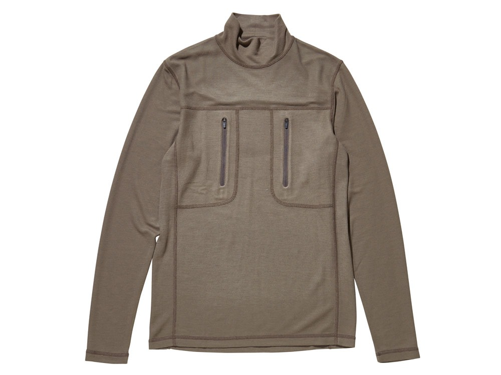 Wool Tactical High Neck S/XS Olive