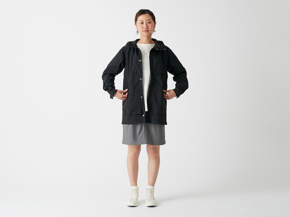 Indigo C/N Mountain Parka  L Black1