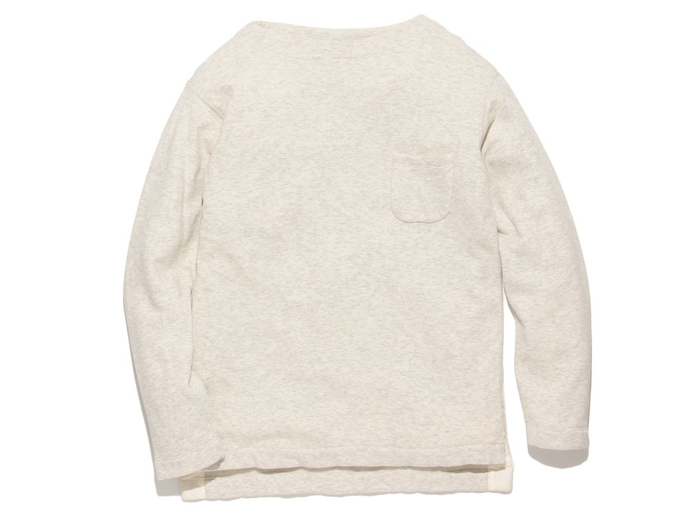 Cashmere Relaxin' Sweat Pullover L Oatmeal0