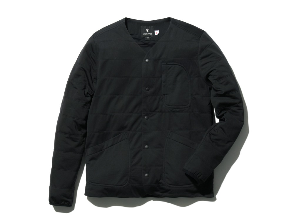 FlexibleInsulatedCardigan 2 Black0