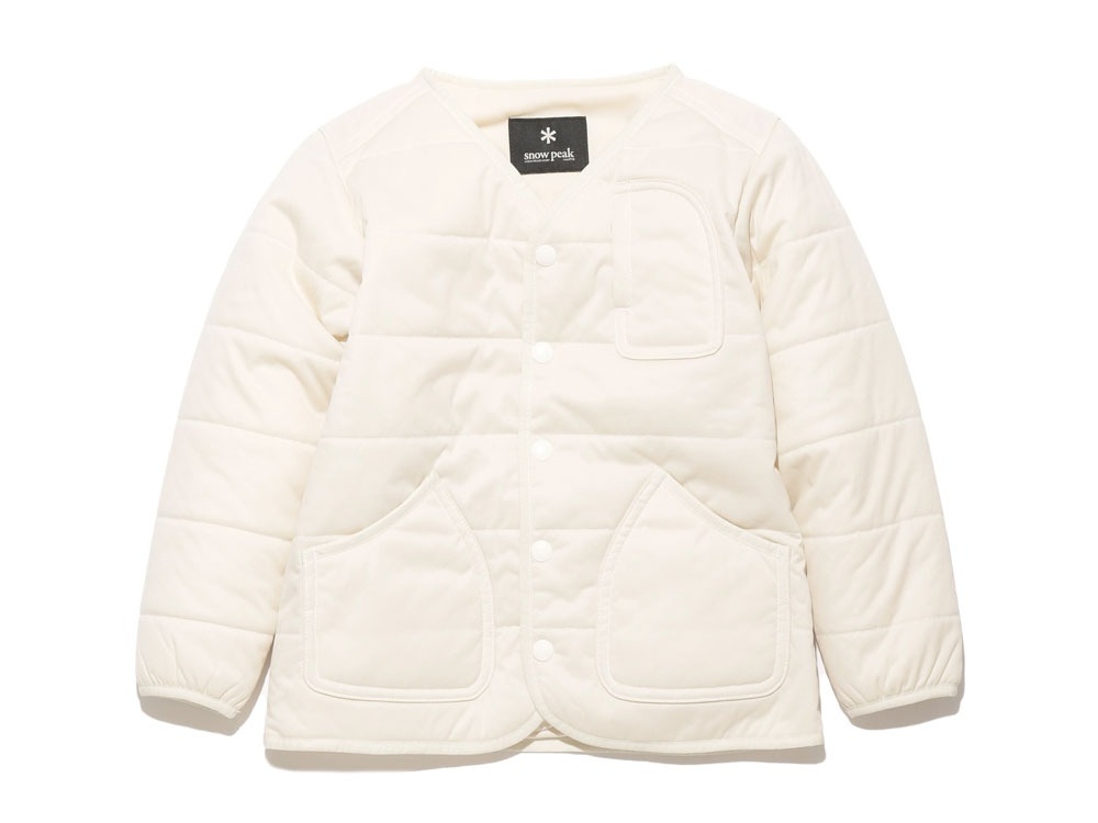 Kids Flexible Insulated Cardigan  4 white0