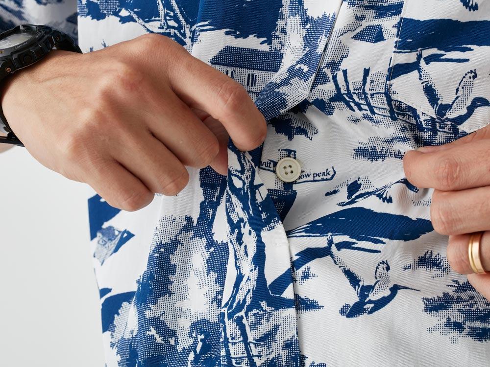 Camp Aloha Shirt 2 Olive6