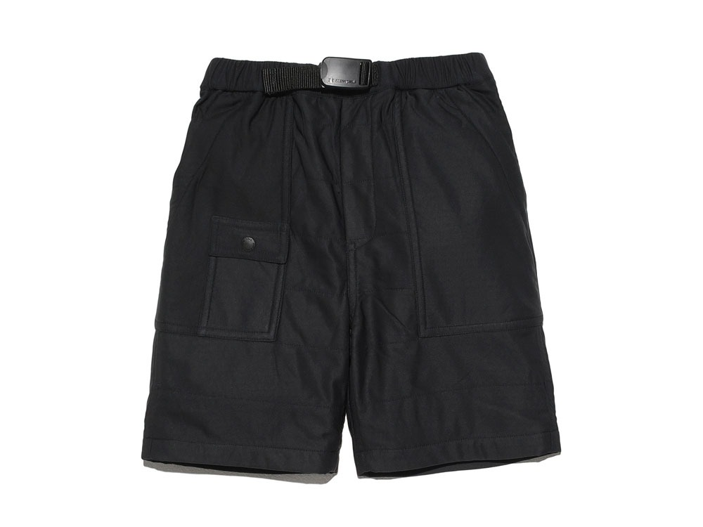 Kids Flexible Insulated Shorts 3 Black0