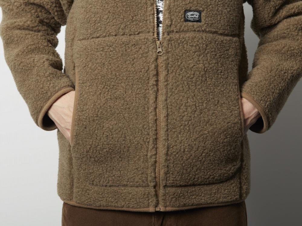 ウールフリースジャケット 1 ブラック