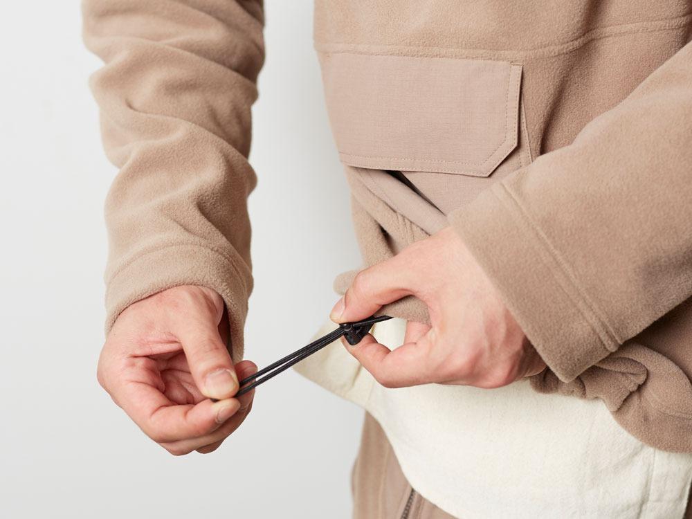 R/Pe Fleece Pullover M Brown5