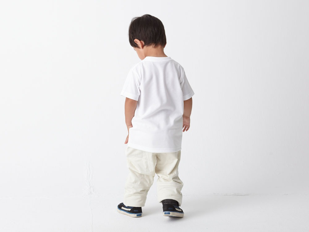 Kid's Printed Tshirt:Woodcut 2 Navy2