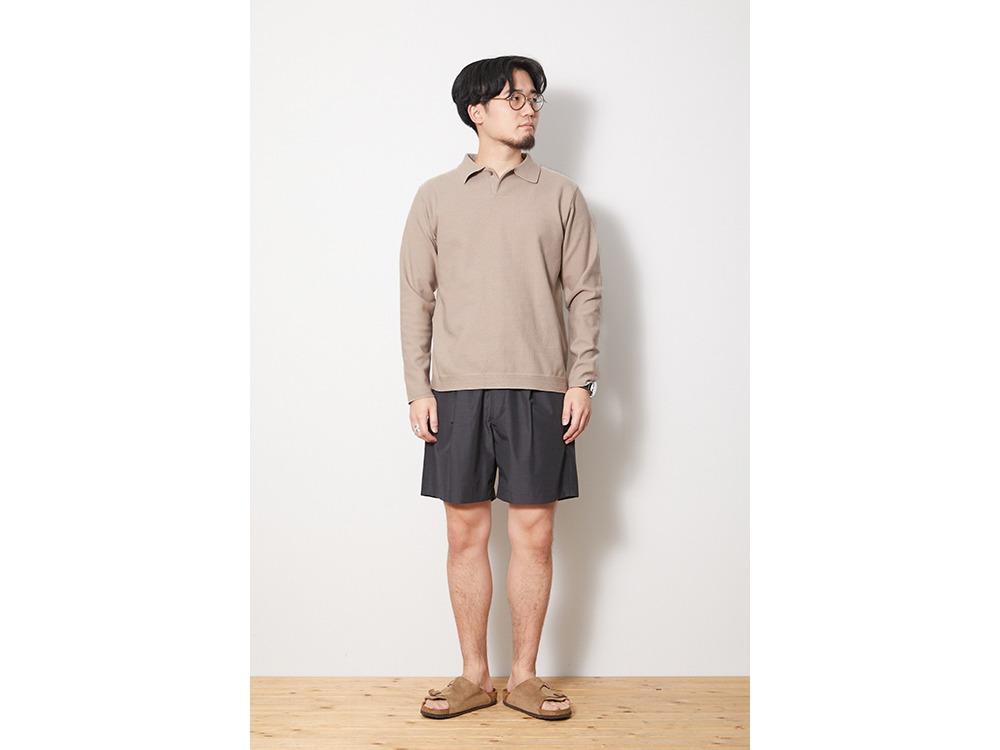 Co/Pe Dry Polo Shirt L Beige