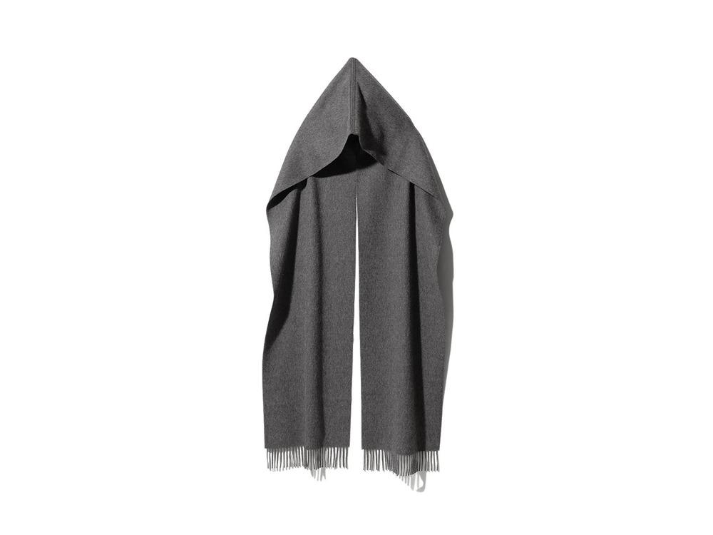 Hoodie scarf One Black
