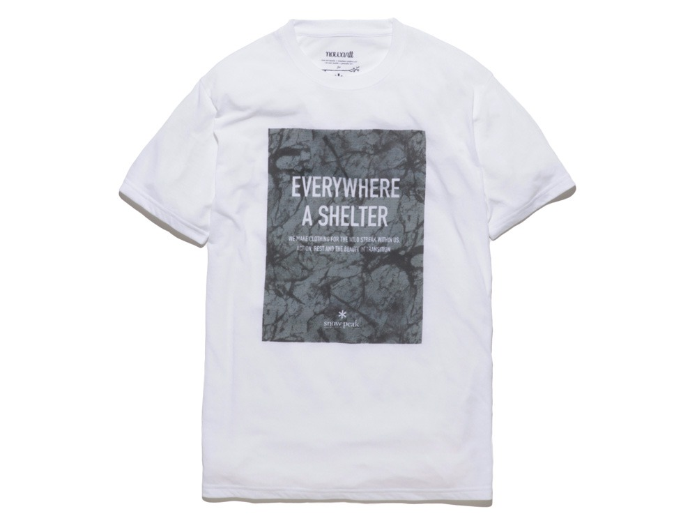 Rock Wall Printed Tshirt S White0