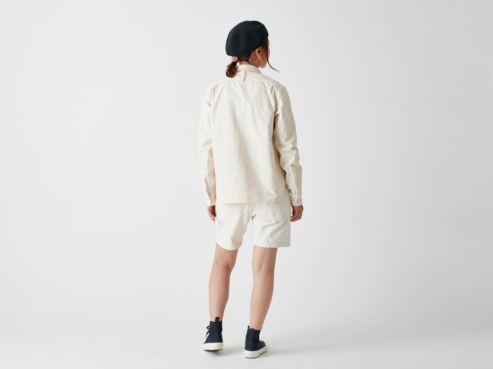 オカヤマオックスシャツ M エクリュ