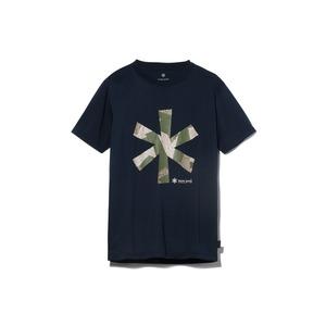 クイックドライティーシャツ (レインカモプリント)