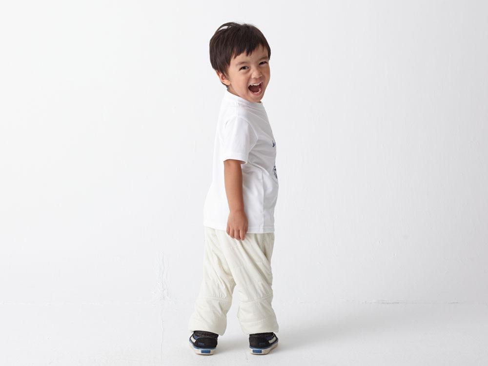 Kid's Printed Tshirt:Camp Field 4 White3