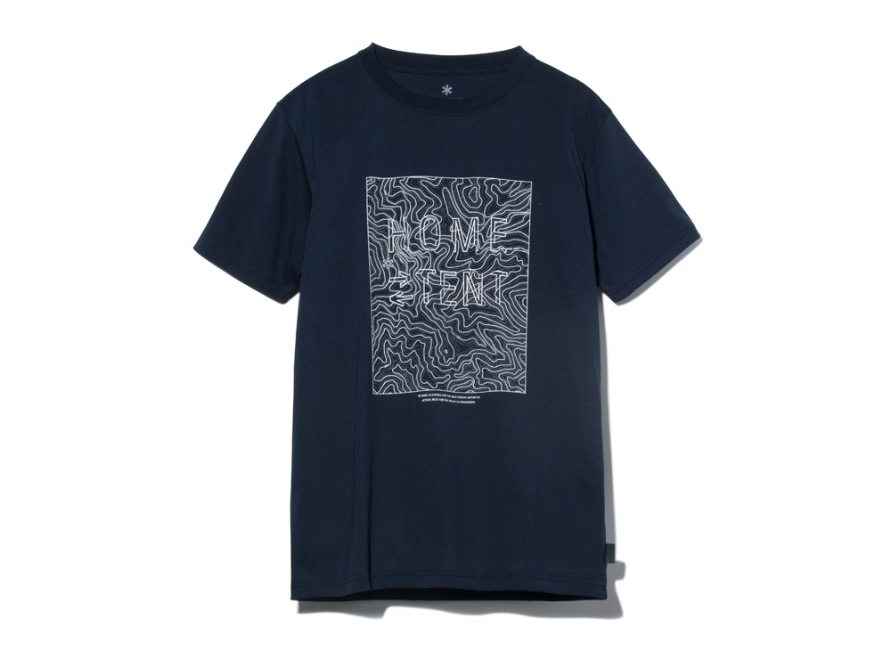 QuickDryTshirt/Contour S Navy0