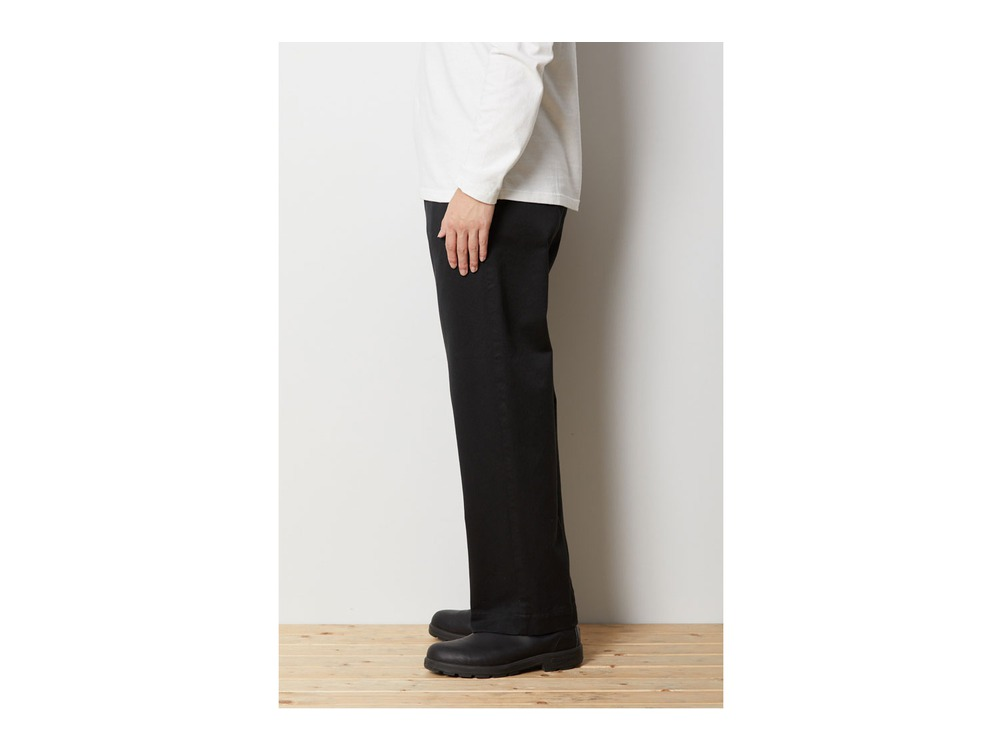 Ultimate Pima Drill Pants M Black
