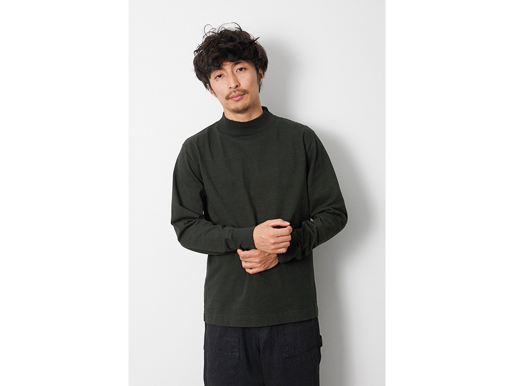 Heavy Cotton GD Mockneck L/S 1 WH