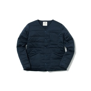 【WEB限定】Flexible Insulated Cardigan Navy