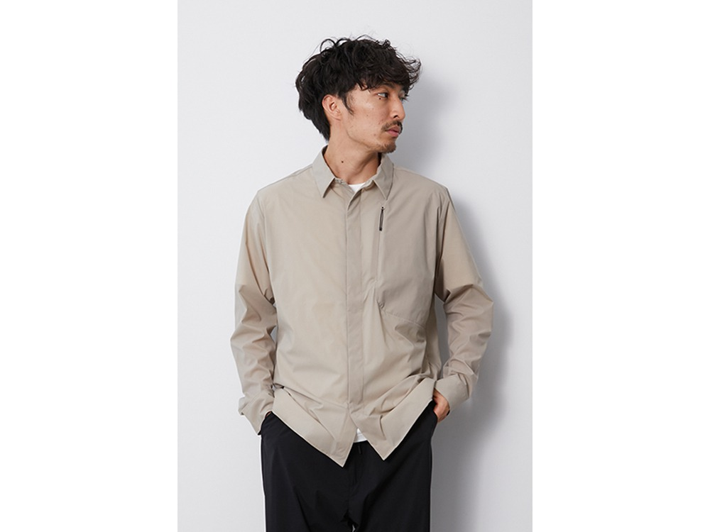 DWR Light Shirts M Greykhaki