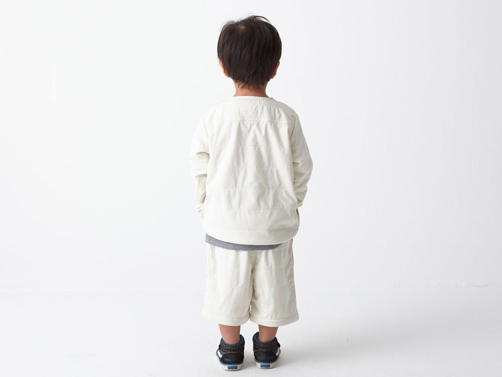 Kids Flexible Insulated Pullover 4 White3