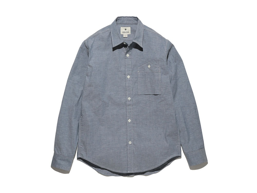 Stretch OX Shirt S Blue0