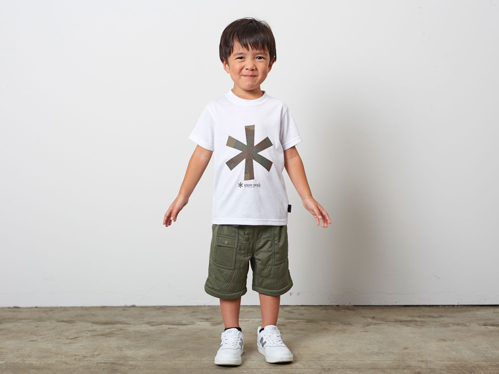 Kid'sQuickDryTshirt/RainCamo 3 White1