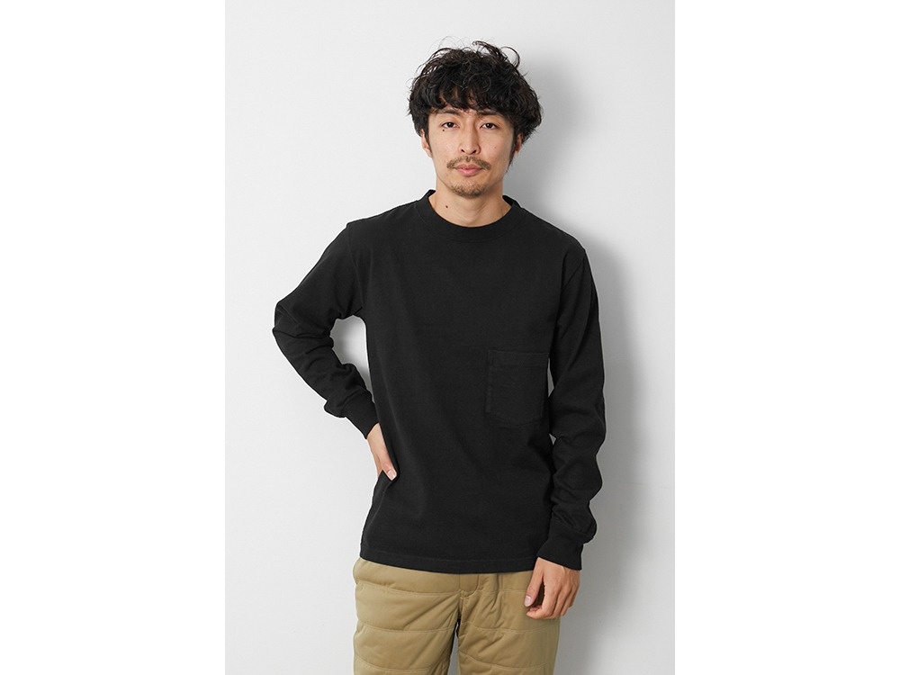 Heavy Cotton GD Crewneck L/S XL BK