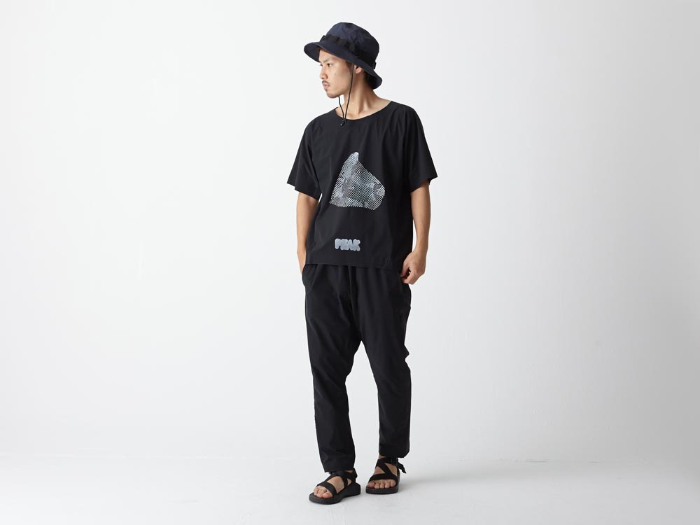Dry&Stretch Tshirt Artwork:2 M Black1