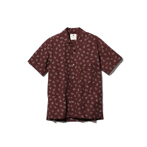 OG Cotton Poplin Paisley Shirt