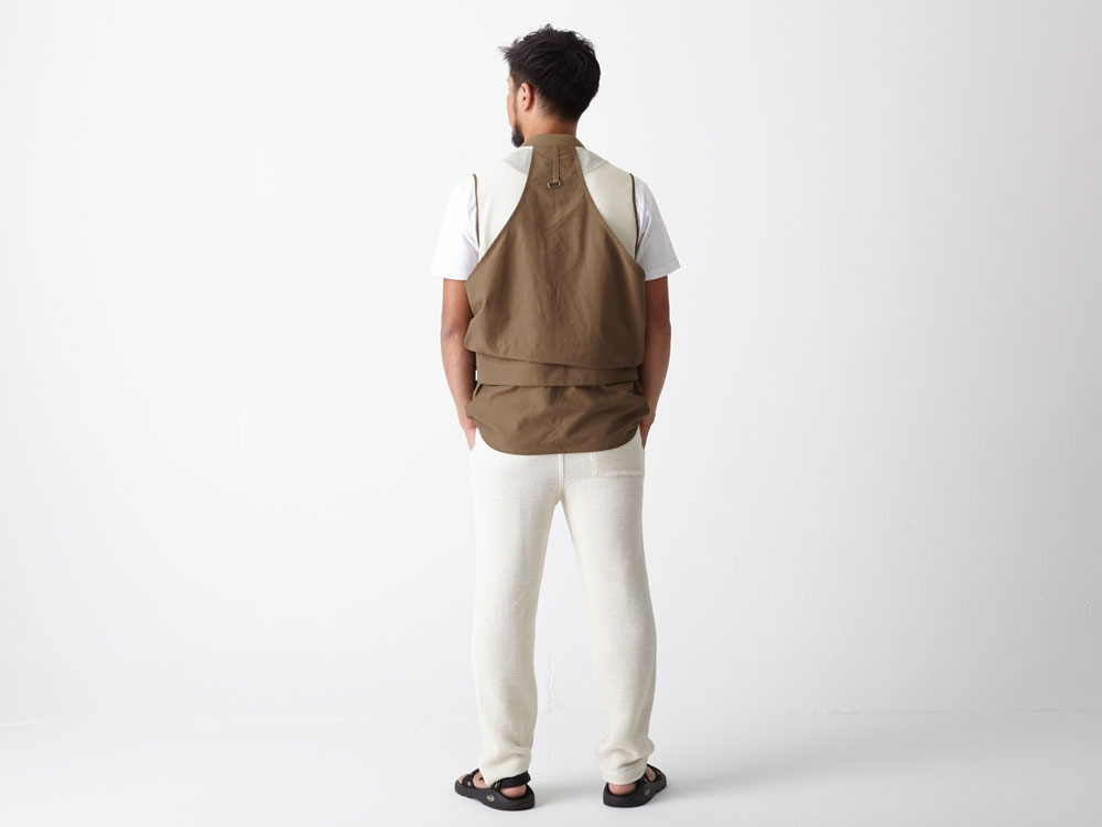 Utility Fishing Vest #2 1 Brown3