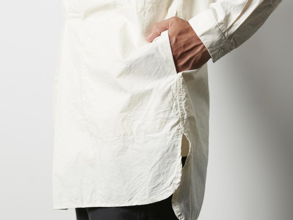 オーガニックコットンスリーピングシャツ 2 ベージュ