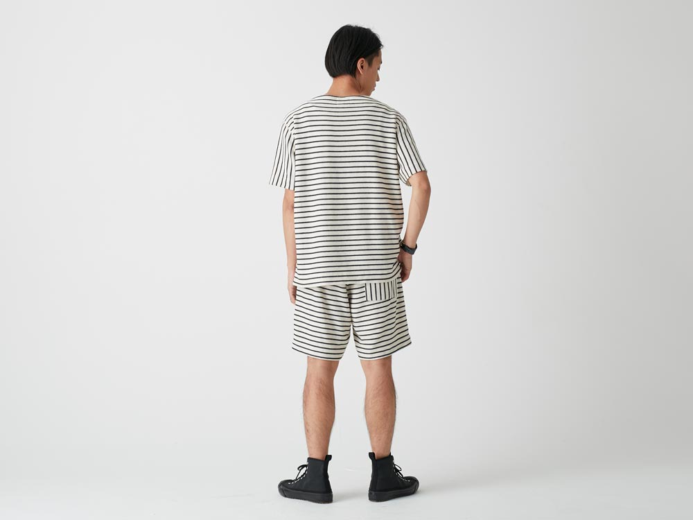C/L Striped Pullover XL Ecru3