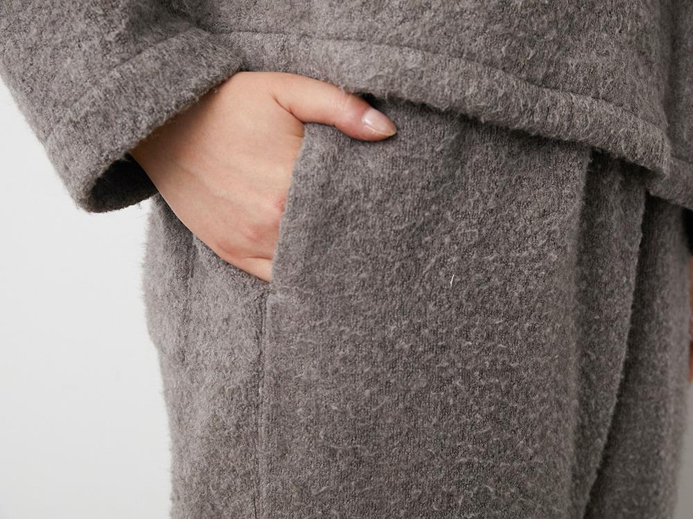Yak Pile Pants 1 Grey