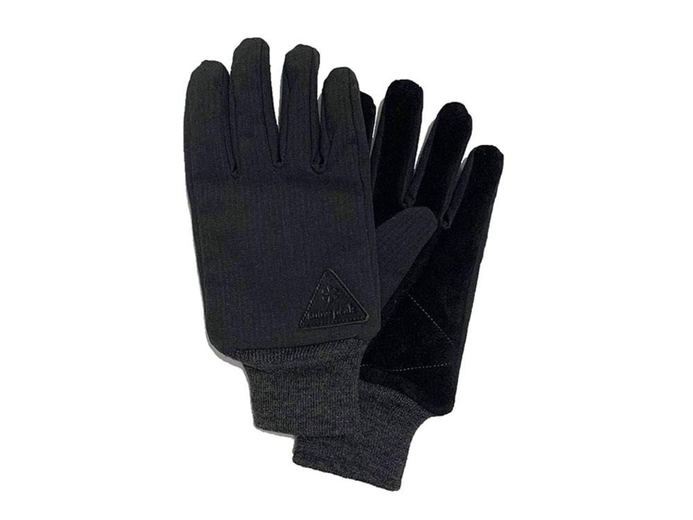 Camping Utility Gloves M Black
