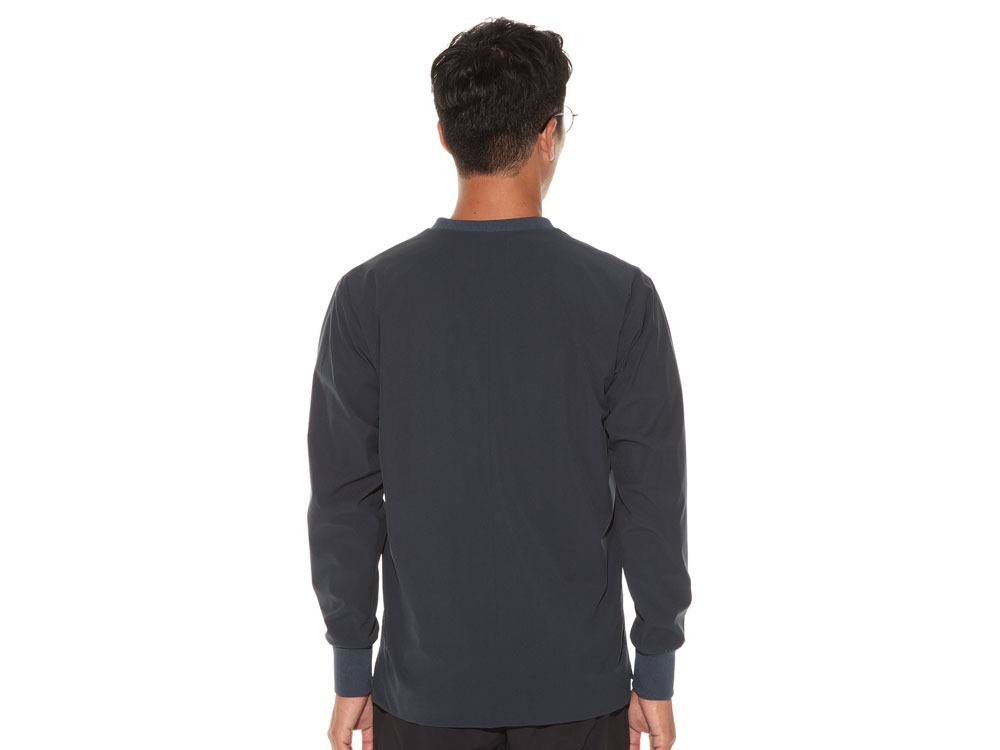 WR&Stretch Pullover L Navy4