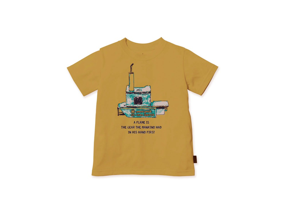 キッズ Auto Igniter Tシャツ 2 Mustard