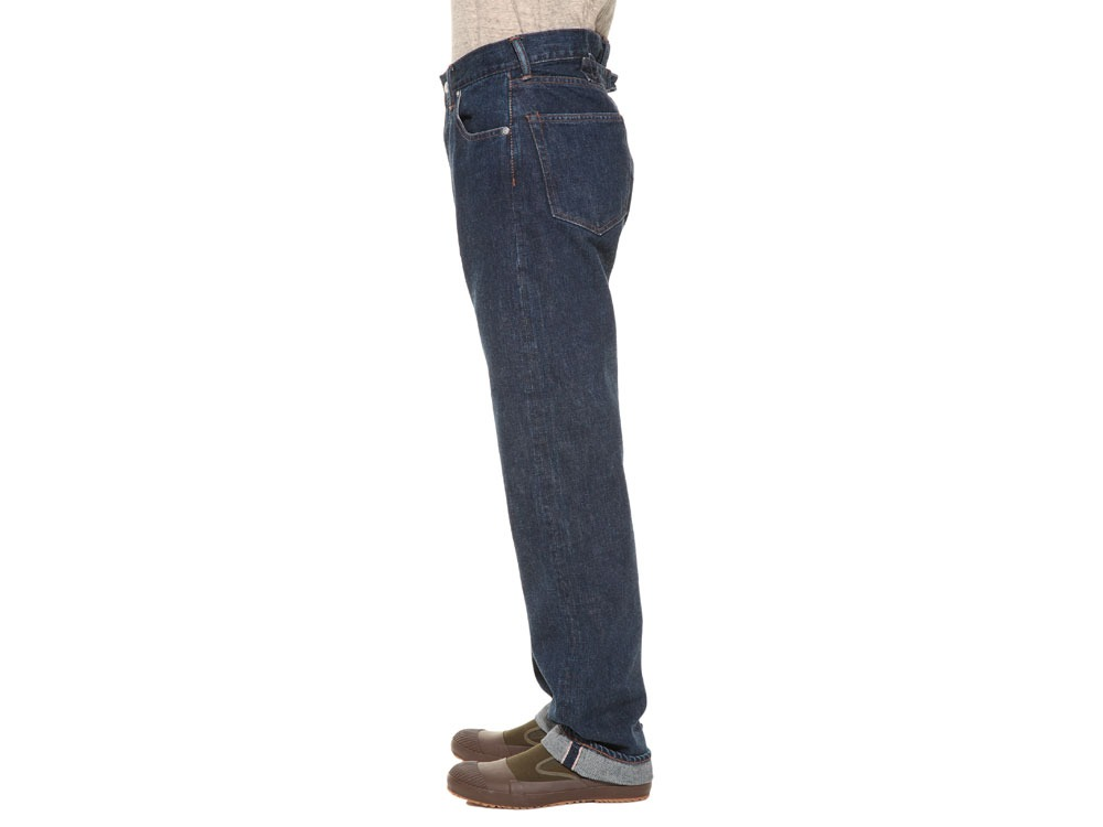 Selvage  Denim Pants Regular Fit28 Stone Wash3