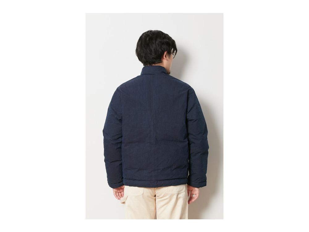 Indigo C/N Down Jacket L Indigo