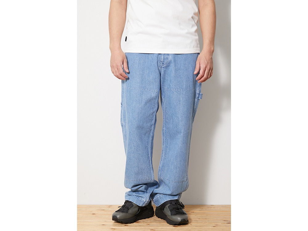 Indigo TAKIBI Pants M Bleach