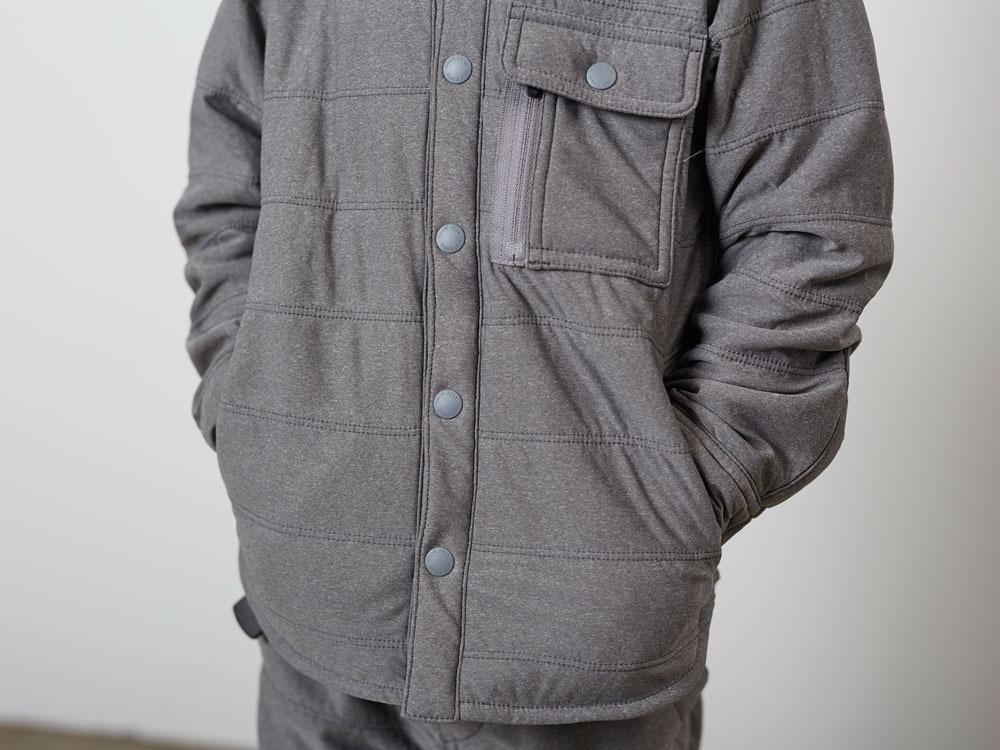 KidsFlexibleInsulatedShirt 1 M.Grey7