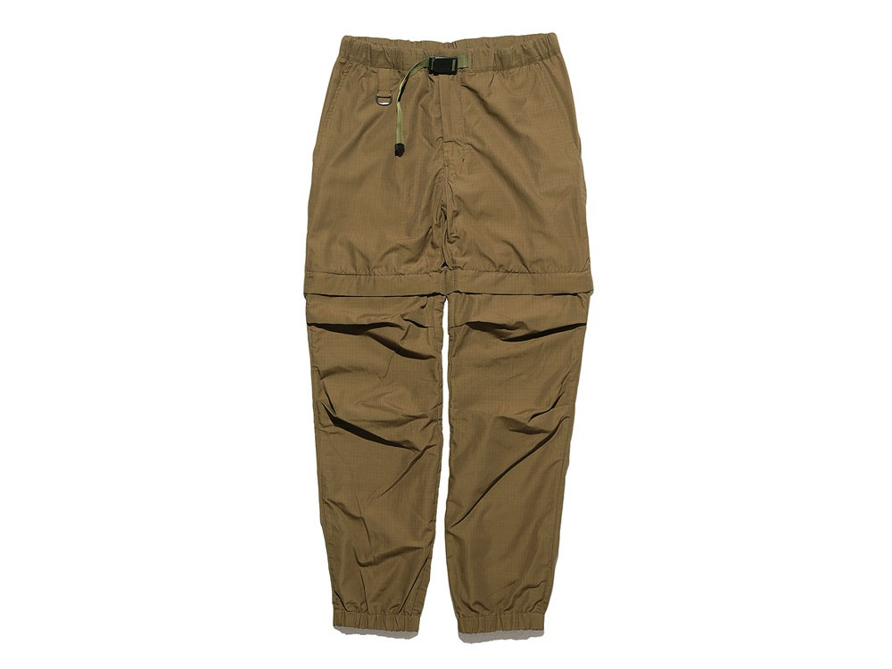 Camping 2WAY Field Pants S Brown0