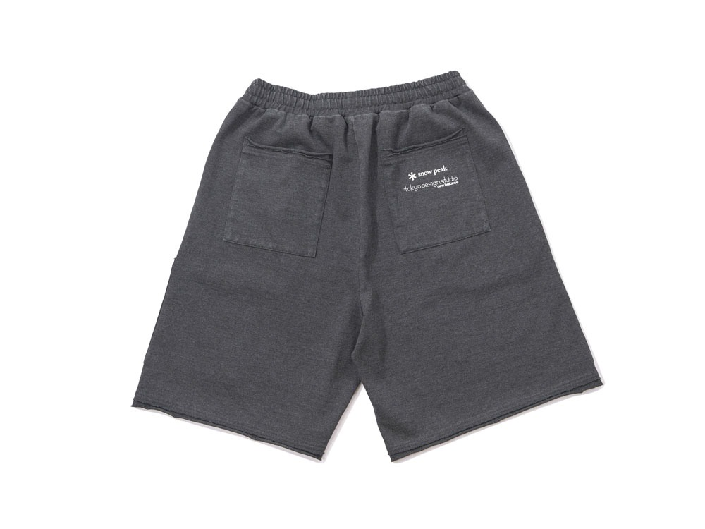 Snow Peak×TDS garment dye SHORTS L Black
