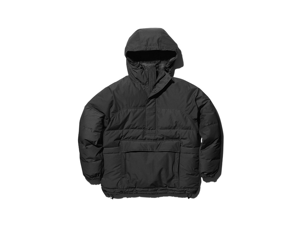 FR Down Pullover S Black