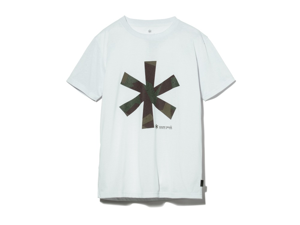 QuickDryTshirt/RainCamo XL White0