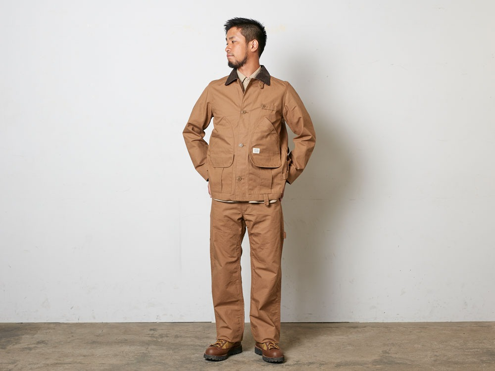 TAKIBICoverall XL Brown1