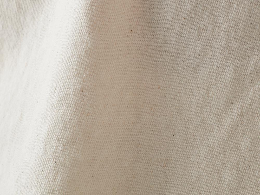 オーガニックワイドティーシャツ L M.グレー