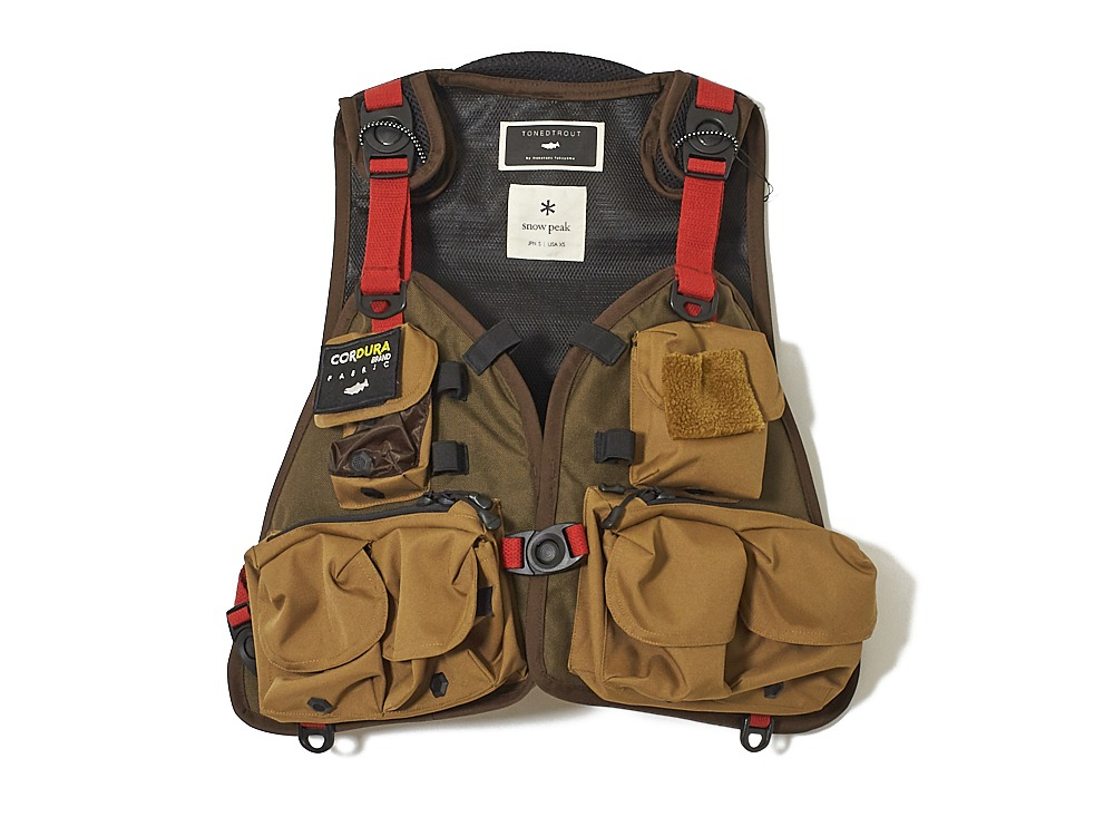 Transit Vest M/S Brown