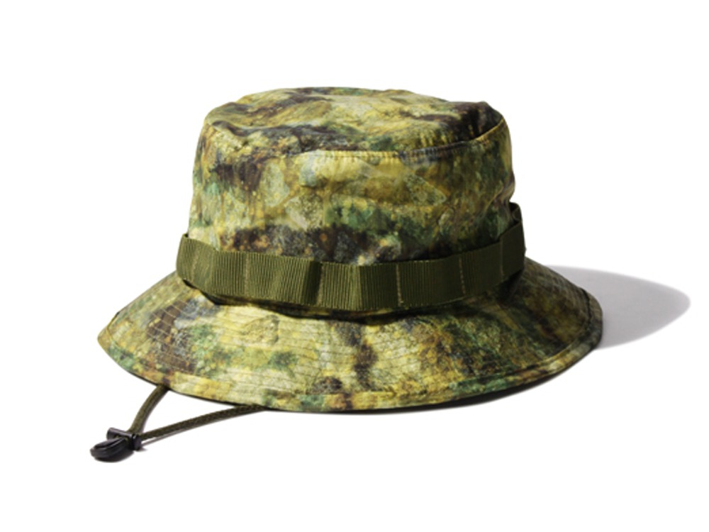 Printed Packable Hat 2 Mustard0